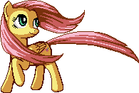 Fluttershy Staring Away