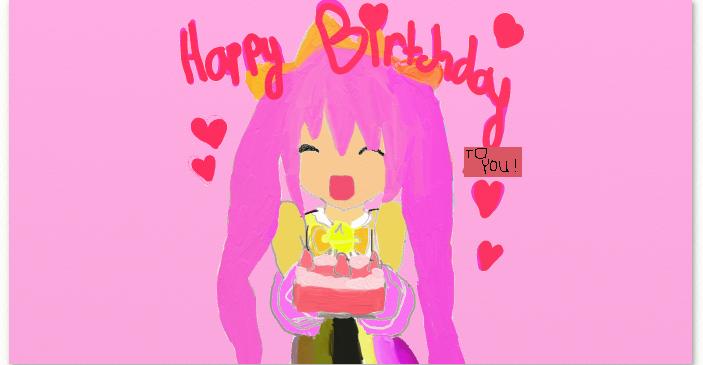 Happy Birthday to anyone!