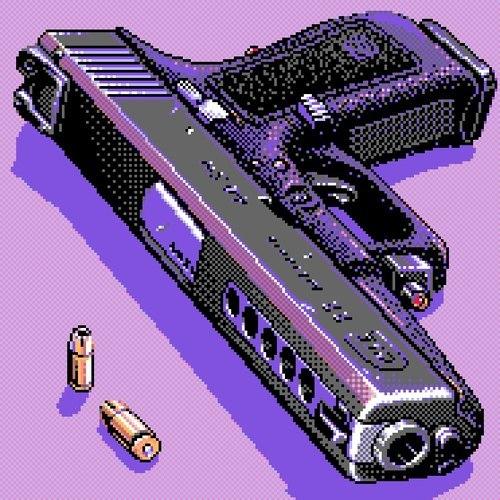 HAND GUN AND AMO
