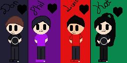 Dan,Phil,My ex bf,and Me (Kat)
