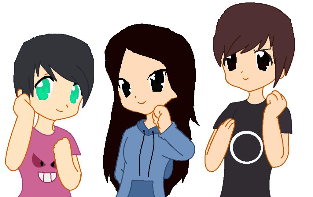 Phil, Me, and Dan!!!!!