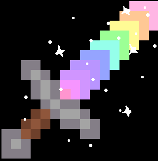 Shining Rainbow Sword
