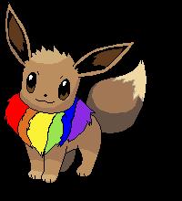Rainbow evee