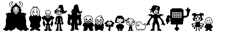 Undertale Black