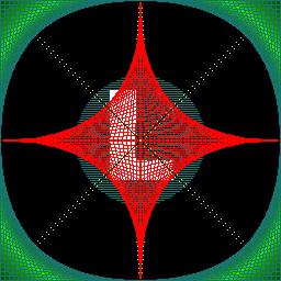 Diagonal setup