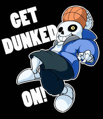 get dunked on
