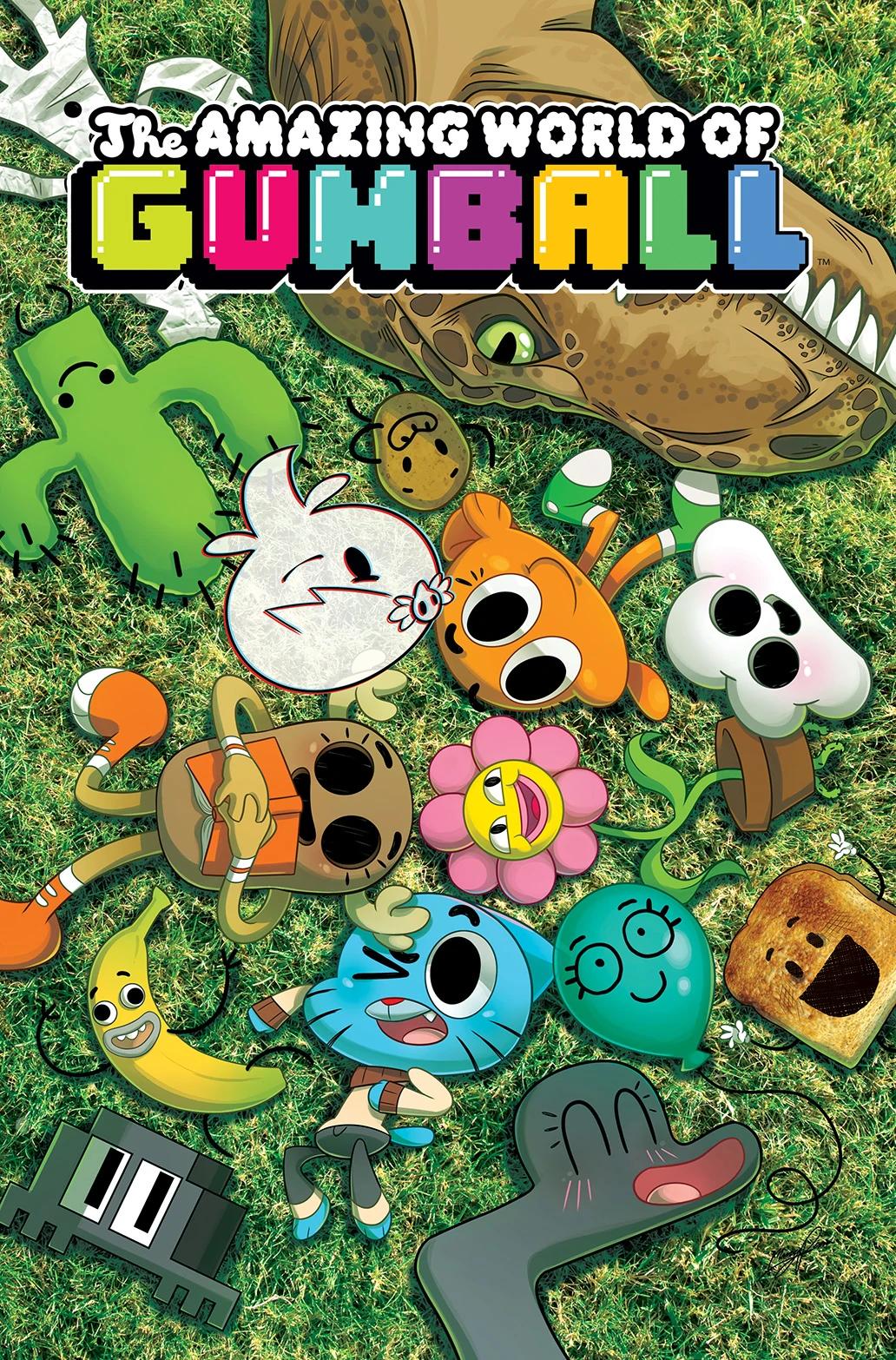 El increíble Mundo De Gumball :v