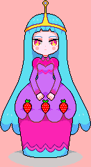 La princesa de fresa