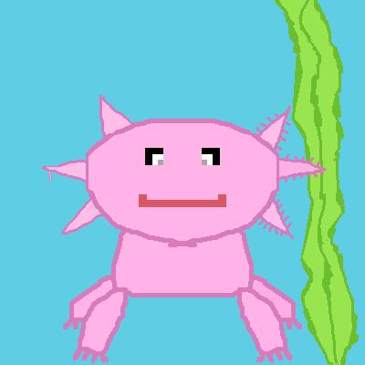 axolotl printable