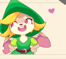 i love her (she's froma math game a friend showed me, im not a furry guys, shes just cute)