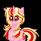 Shouti, my oc pony