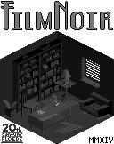 Isometric Film Noir Scene